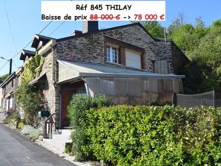 vente maison THILAY 80m2 88000€