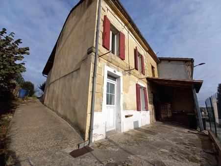 A vendre maison MIRAMONT DE GUYENNE 49 000  €