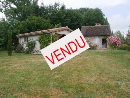 vente maison COUSSAC BONNEVAL 35m2 66500€
