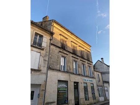 Achat immeuble jonzac 89 000  €