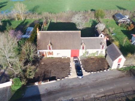 vente maison SANCOINS 200m2 88000€