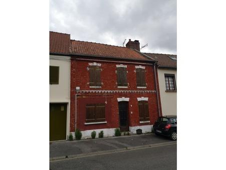 Vente maison PONT REMY 90 m² 60 000  €