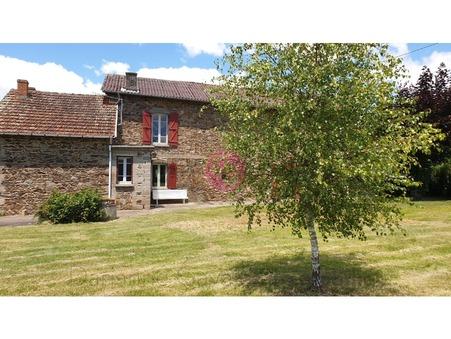 vente maison FLAGNAC 95m2 91800€