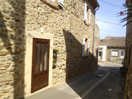 vente maison MONTBRUN DES CORBIERES 116m2 169500€