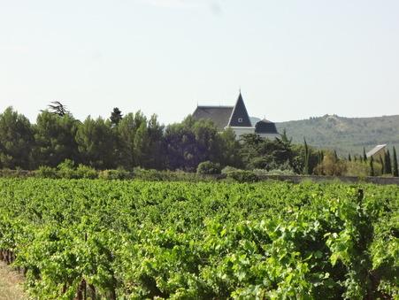 vente chateau LEZIGNAN CORBIERES 750m2 1295000€