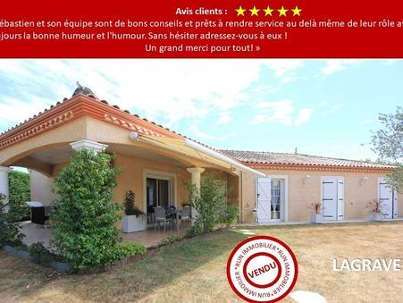 Vends maison LAGRAVE  387 000  €