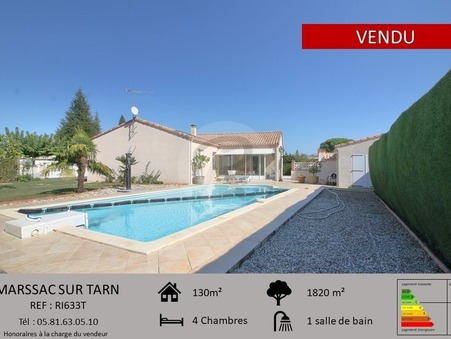 Vendre maison MARSSAC SUR TARN  380 000  €