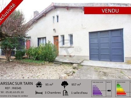 Vends maison MARSSAC SUR TARN  160 000  €
