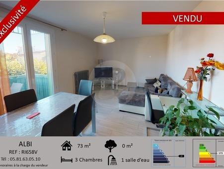 Vente appartement ALBI  149 500  €