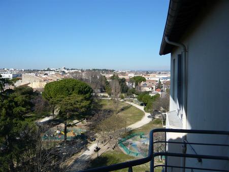 vente appartement montpellier 58 000  € 12.5 m²