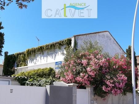 Vendre maison VALRAS PLAGE  380 000  €