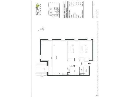 Vendre appartement saint-caprais-de-bordeaux  229 000  €