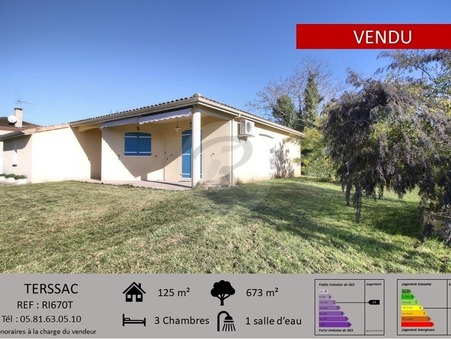 vente maison TERSSAC  220 000  € 125 m²