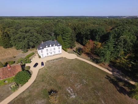 vente chateau VIERZON 600m2 1250000€