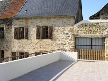 location gite belcastel  350  € 70 m²