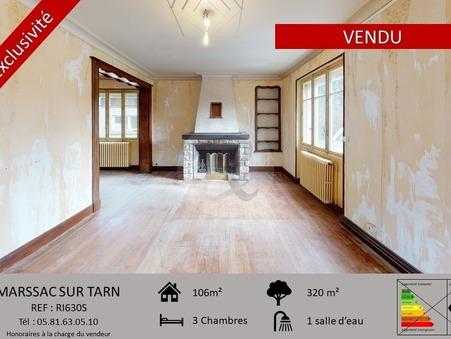 Vends maison MARSSAC SUR TARN  159 000  €