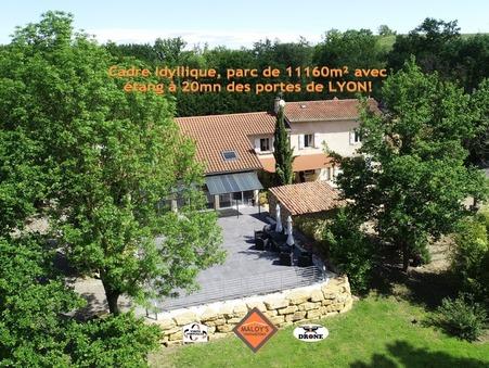 vente maison Lentilly  849 000  € 280 m�