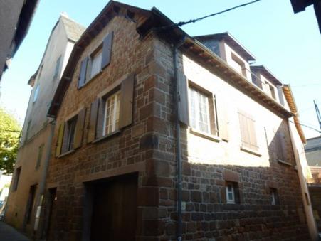 Vends maison MARCILLAC VALLON  136 480  €