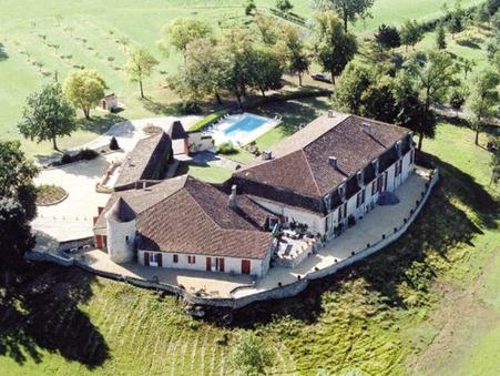 vente chateau agnac 1 365 000  € 750 m²