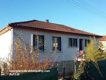 Vends maison CAHORS  137 800  €