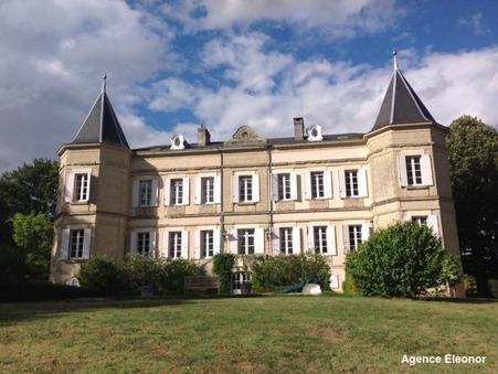 Vends chateau Miramont de guyenne  981 750  €