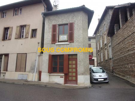 Vends maison LA COTE ST ANDRE 65 000  €