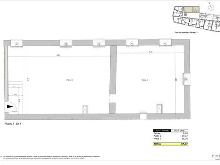 vente appartement LOZANNE 155000 €