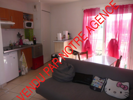 vente appartement CASTELNAU D'ESTRETEFONDS 35m2 85000€