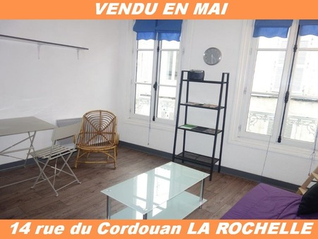 Vends appartement LA ROCHELLE  117 500  €