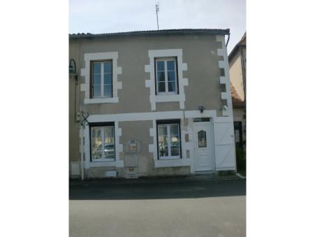 vente maison PAIZAY LE SEC 120m2 73000€