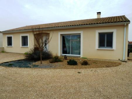 vente maison NIEUIL L'ESPOIR 122m2 234900€