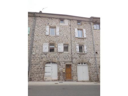 vente maison JAUJAC 116m2 129000€