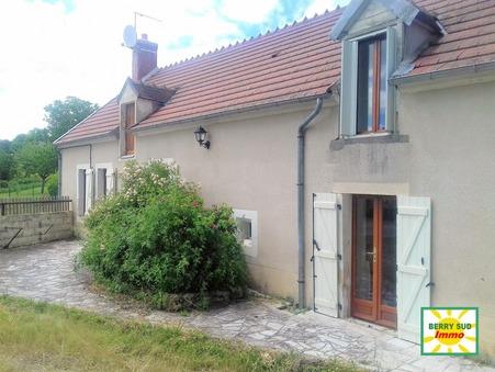 vente maison SANCOINS 110m2 125000€