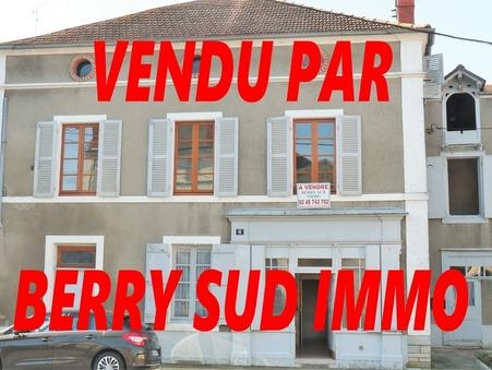 vente maison SANCOINS 140m2 29000€