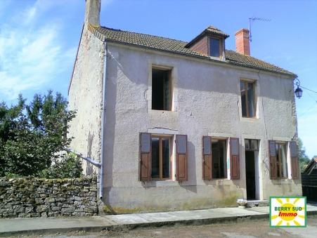 vente maison SANCOINS 90m2 56000€