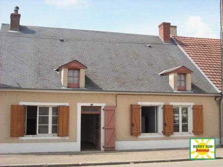 vente maison SANCOINS 100m2 65000€