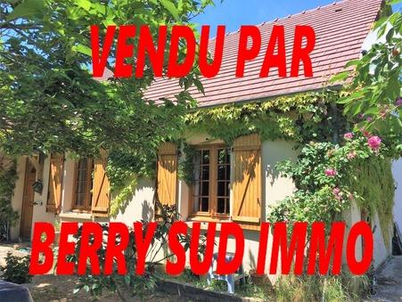 vente maison SANCOINS 110m2 99500€