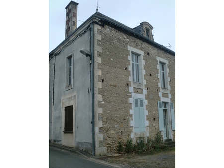 vente maison CHAPELLE VIVIERS 80m2 28000€