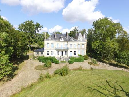 vente chateau CHATEAUROUX 1400m2 775000€