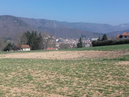 vente terrain VOREY 2043m2 48500€