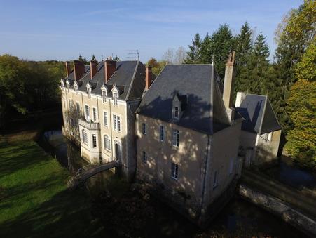 vente chateau CHATEAUROUX 960m2 565000€