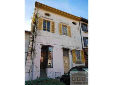 vente maison LA COTE ST ANDRE 95 000  € 170 m²