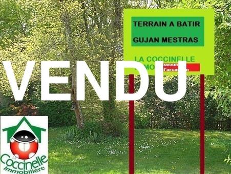 Vente terrain GUJAN MESTRAS  189 000  €