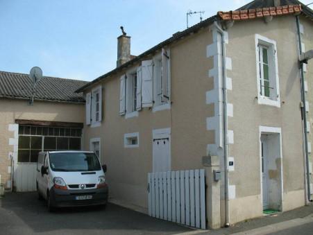 vente maison CHAPELLE VIVIERS 80m2 35000€
