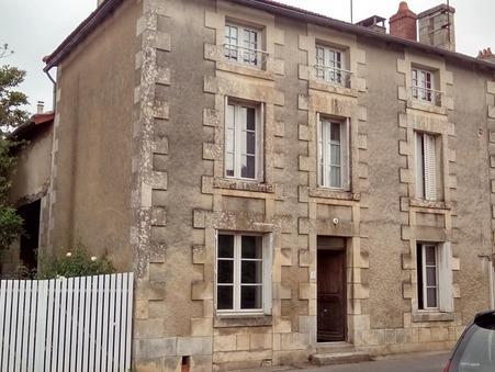vente maison LA CHAPELLE MOULIERE 136m2 117000€