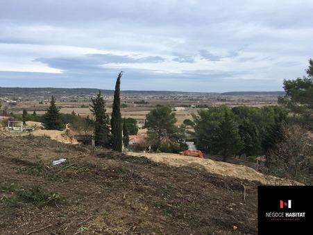 Vends terrain calvisson  170 000  €