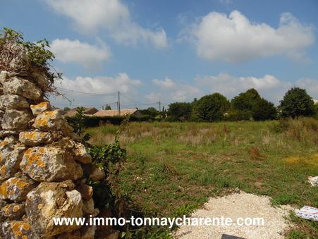 Vente terrain Tonnay charente 45 100  €