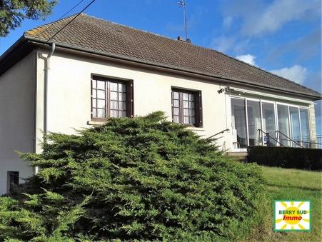 vente maison SANCOINS 105m2 125000€