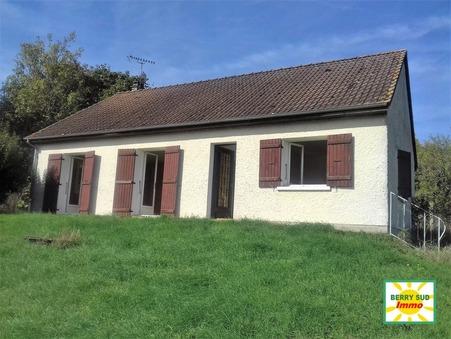 vente maison SANCOINS 90m2 98000€