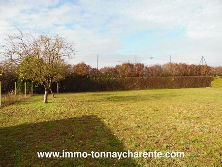 vente terrain Tonnay charente 60000 €